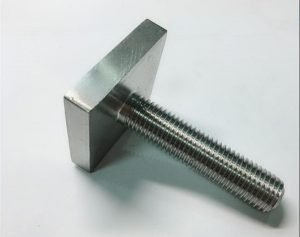 Nickel Cooper monel400-kvadrata riglilo-fiksilo uns n04400