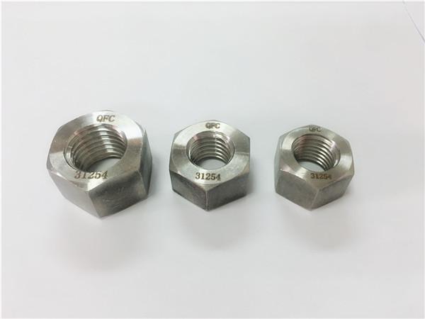 dupleksa neoksidebla ŝtalo 2205 / s32205 heksa nukso
