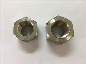 No.111-Fabrikita nikelo-alojo A453 660 1.4980 heksaj nuksoj