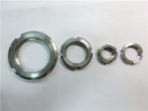 No.33-Ĉina provizanta kutimo farita neoksidebla ŝtala ronda nukso