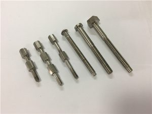 No.41-CNC-titanio-maŝin-parta riglilo kaj nukso