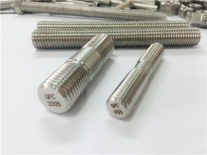 No.80-dupleksa 2205 S32205 2507 S32750 1.4410 altkvalita aparataro-fiksilo ligna fadena vergo ankro