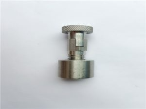 Ne.95-SS304, 316L, 317L SS410 Ŝvela riglilo kun ronda nukso, ne-normaj fiksiloj