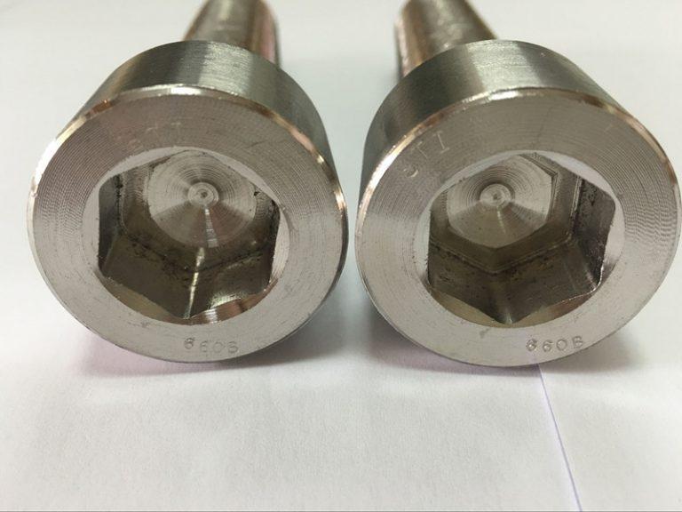 fermetiloj fabrikantoj DIN 6912 titanio heksagono ŝraŭbo riglilo